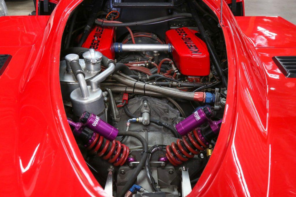 1991 Koenig C62 (Porsche 962) engine