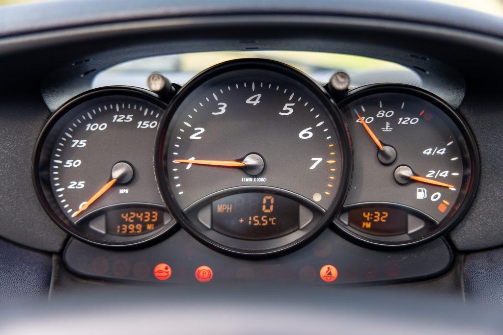 Porsche Boxster dials