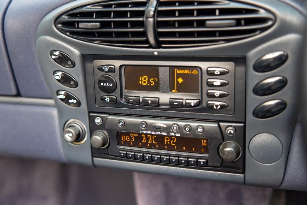 Porsche Boxster radio