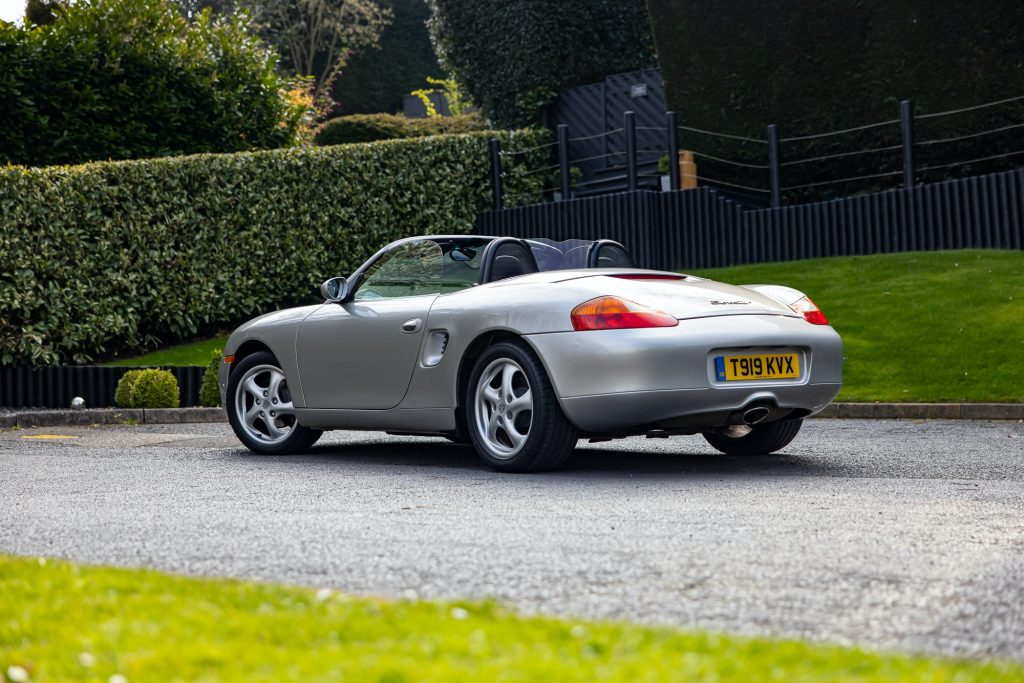 Porsche Boxster 986 values by Hagerty