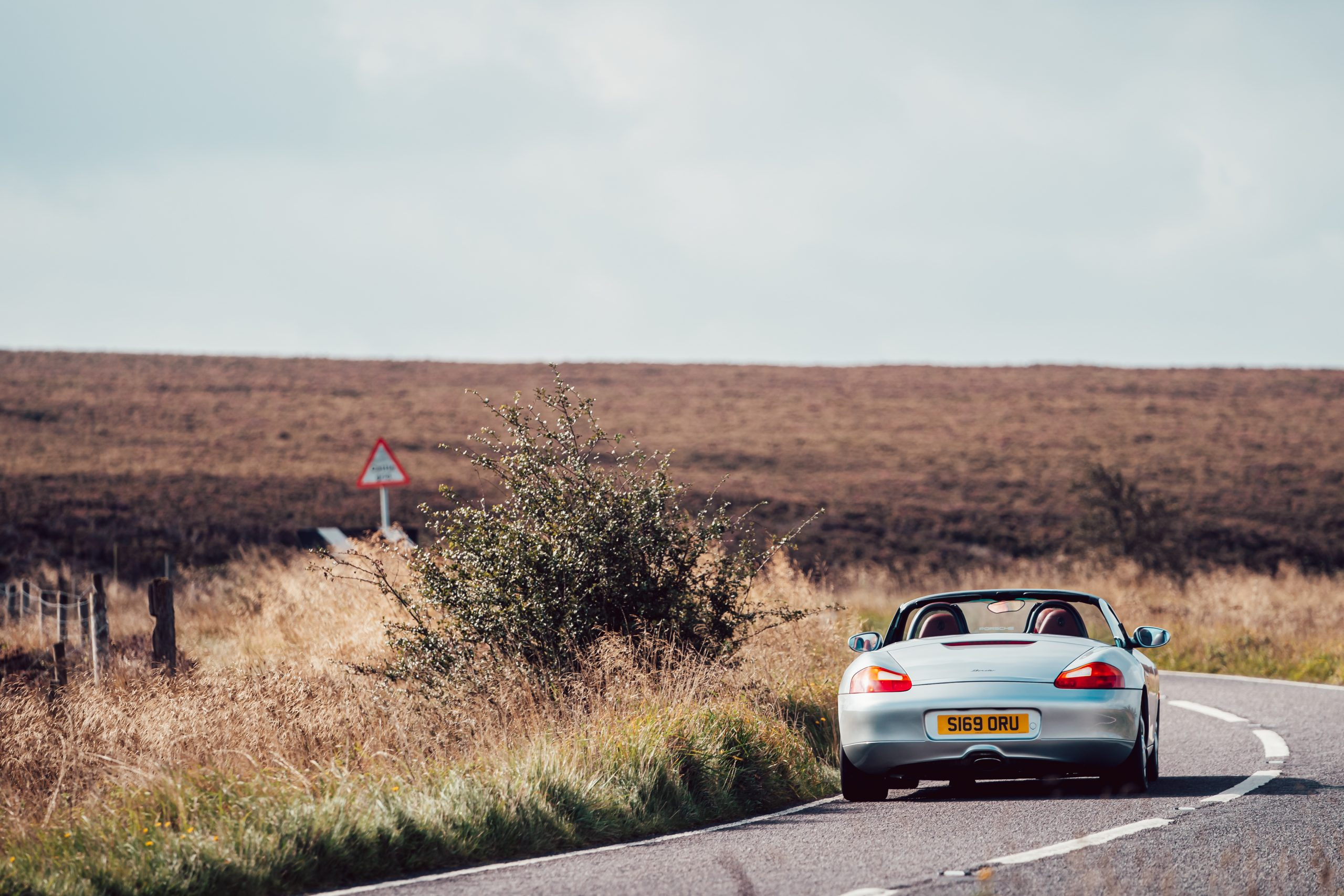 2021 Porsche Boxster 985 rear view