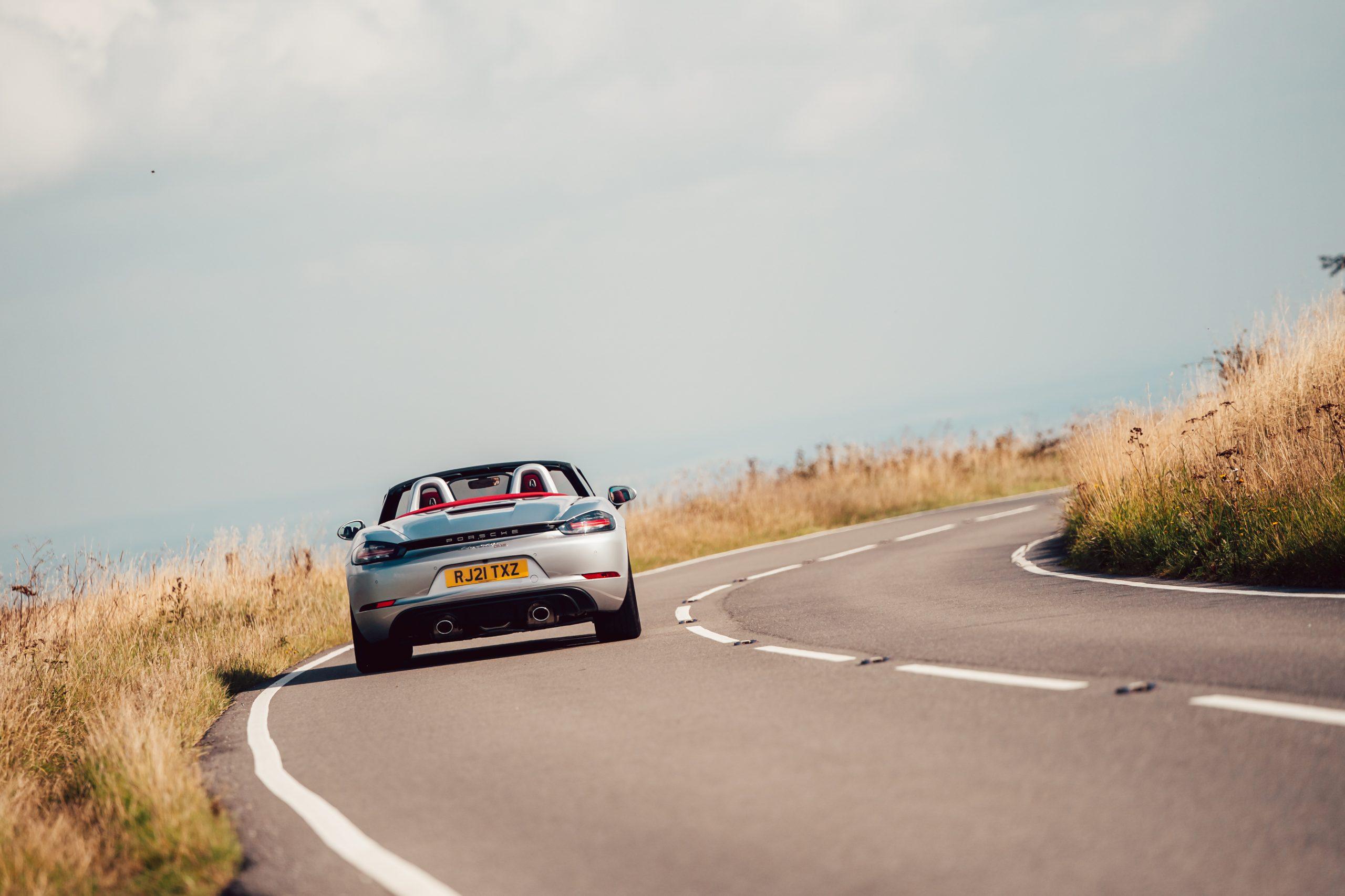 2021 Porsche Boxster 25 rear view