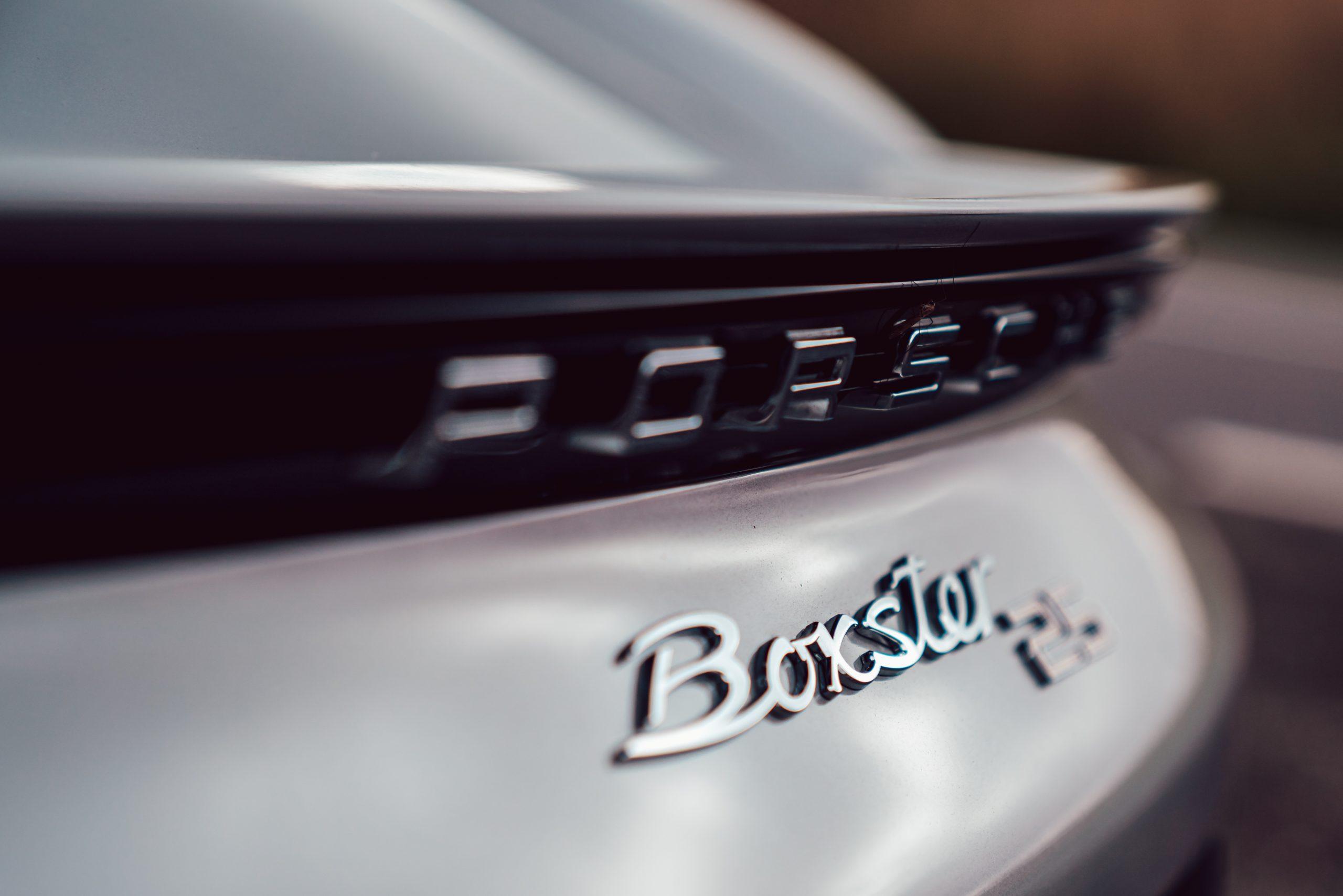 Porsche Boxster 25 badge