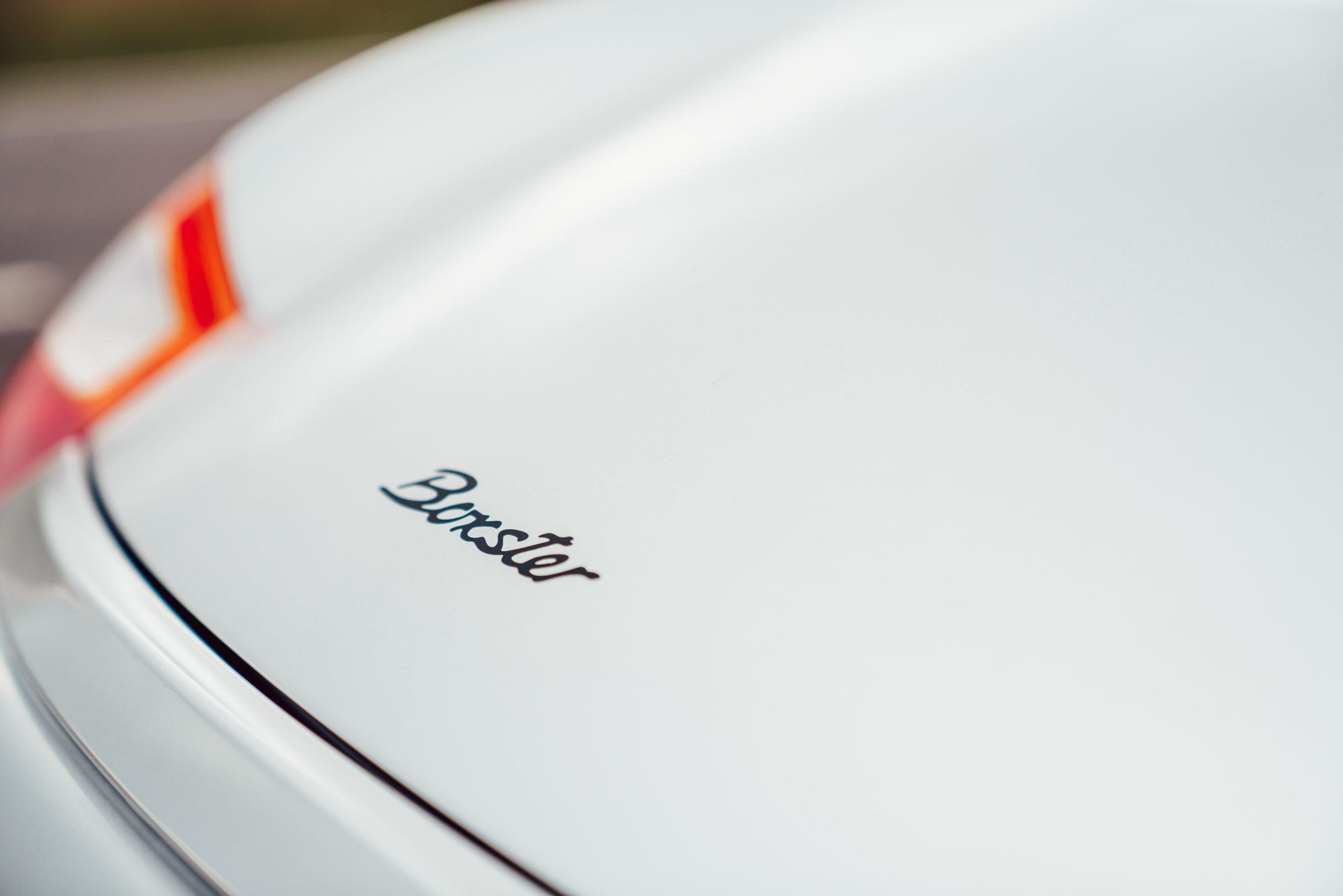 Porsche Boxster 986 badge