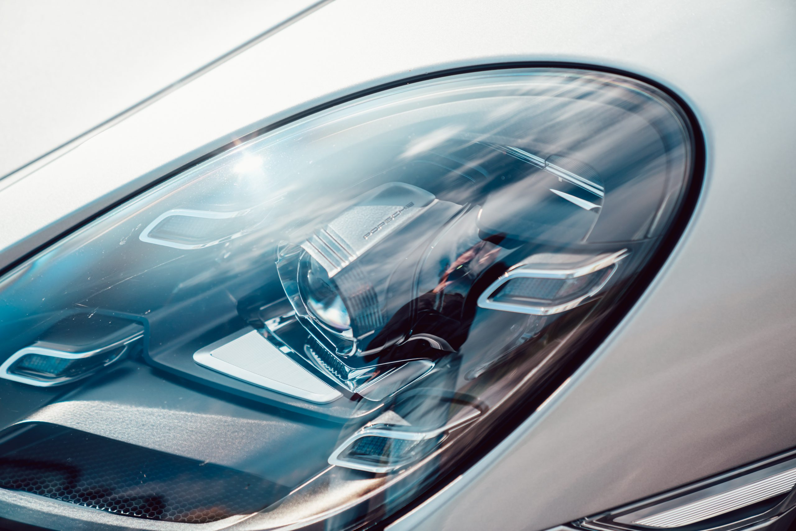 Porsche Boxster 25 headlamp cluster