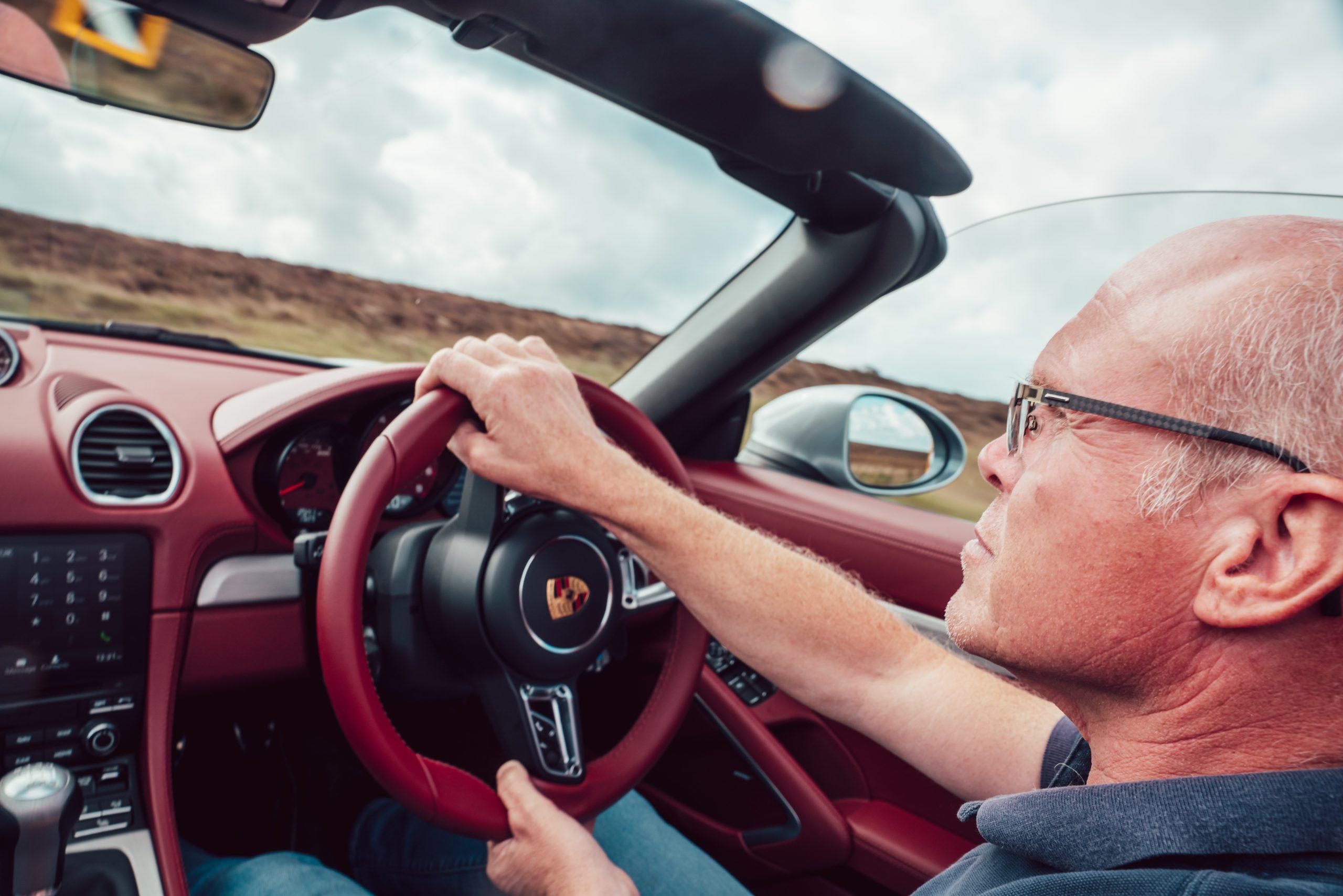 2021 Porsche Boxster 25 test