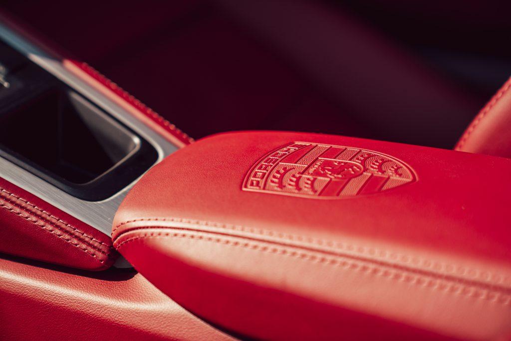 2021 Porsche Boxster 25 Years interior