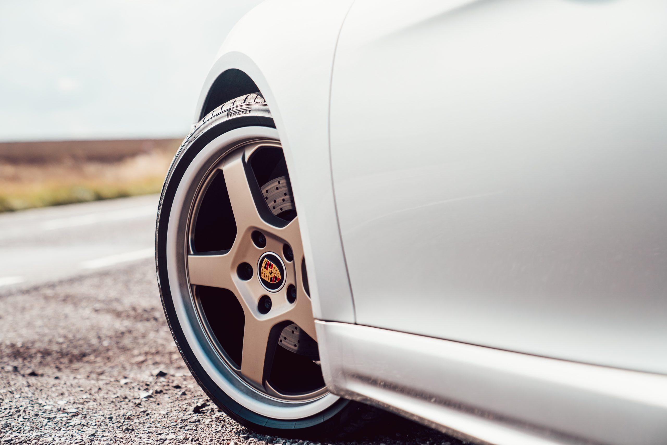 Porsche Boxster 25 alloy wheel