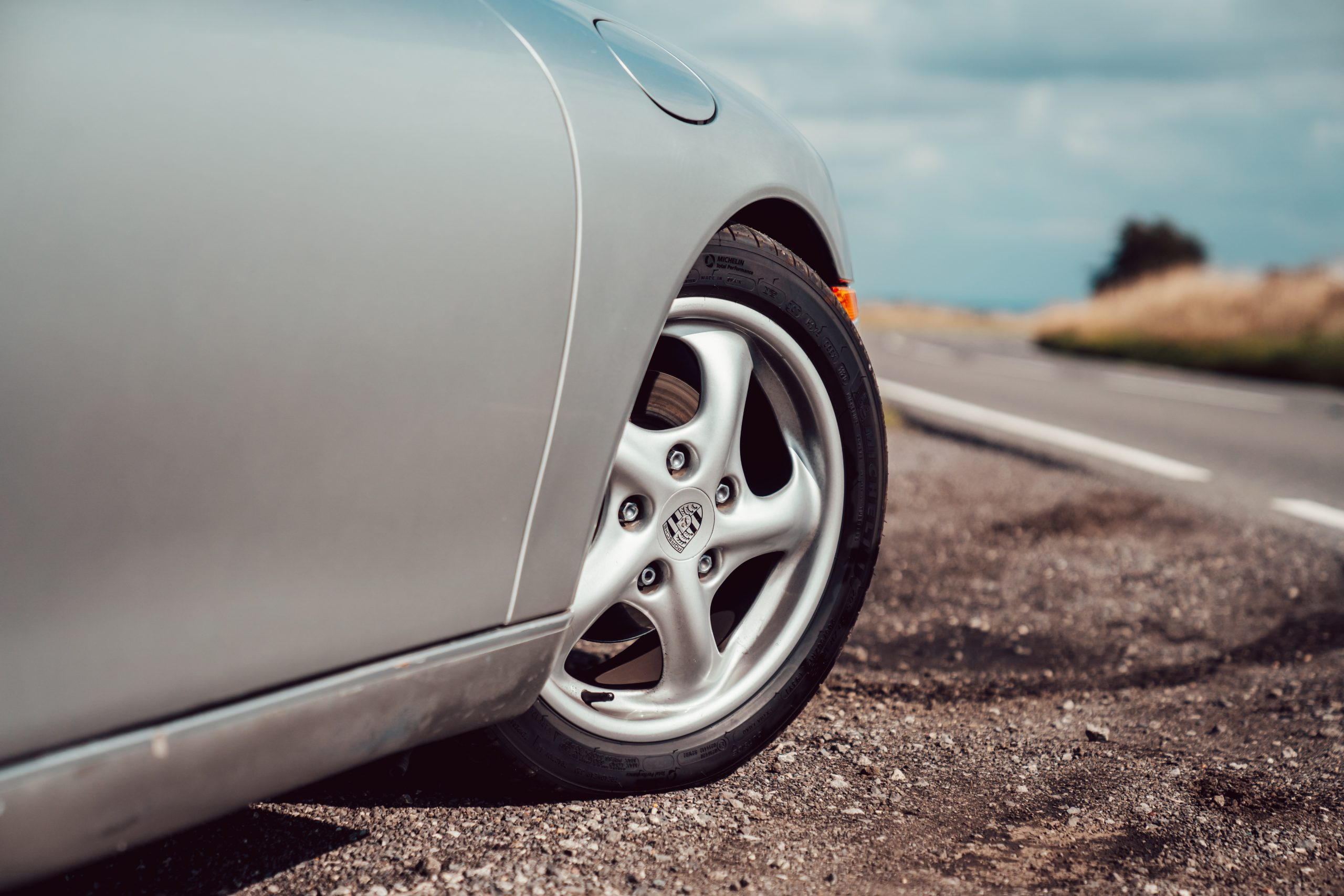 Porsche Boxster 986 alloy wheel