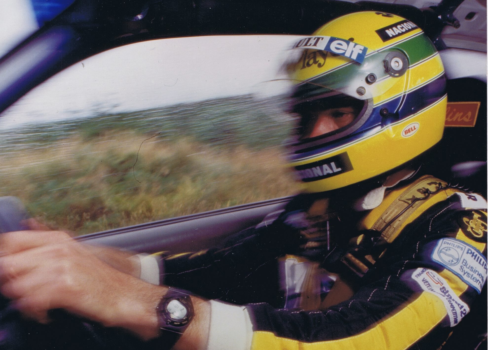 """""""I want to find out for myself"""" – I was there the day Ayrton Senna went rallying"""