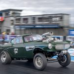 Volvo P1800 gasser drag car