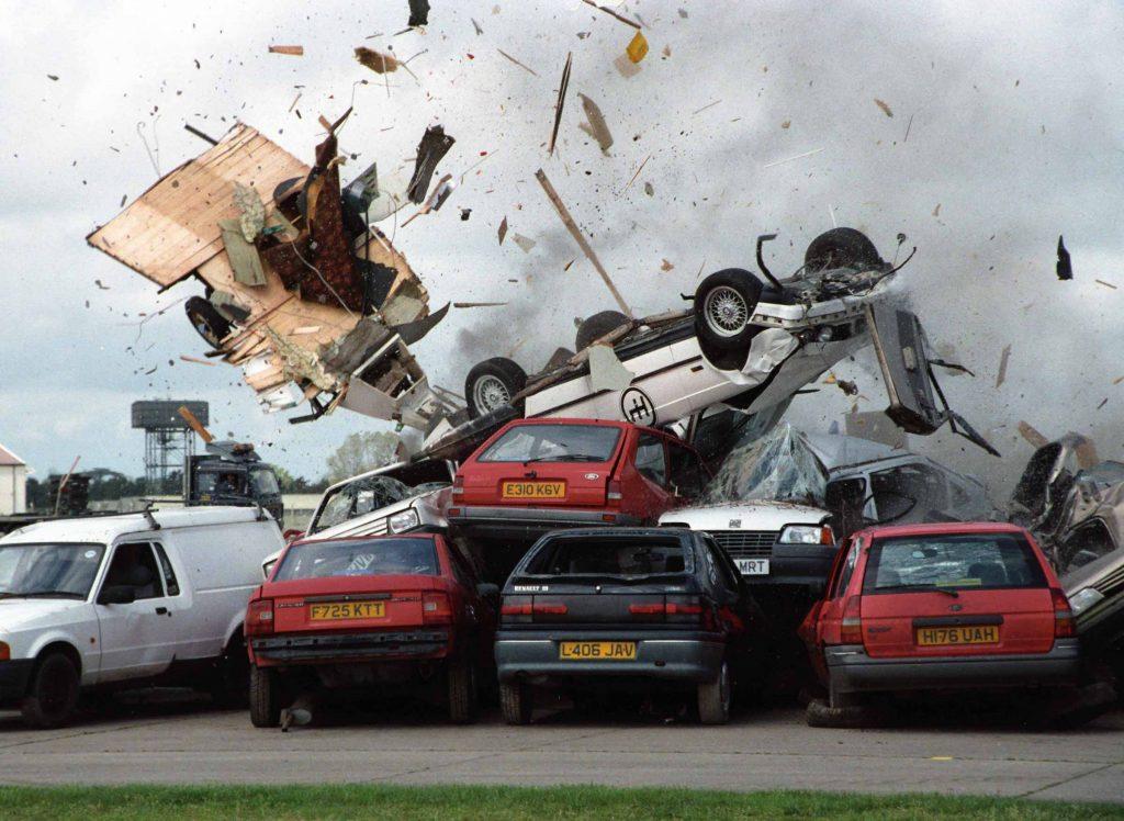 Fifth Gear caravan jump