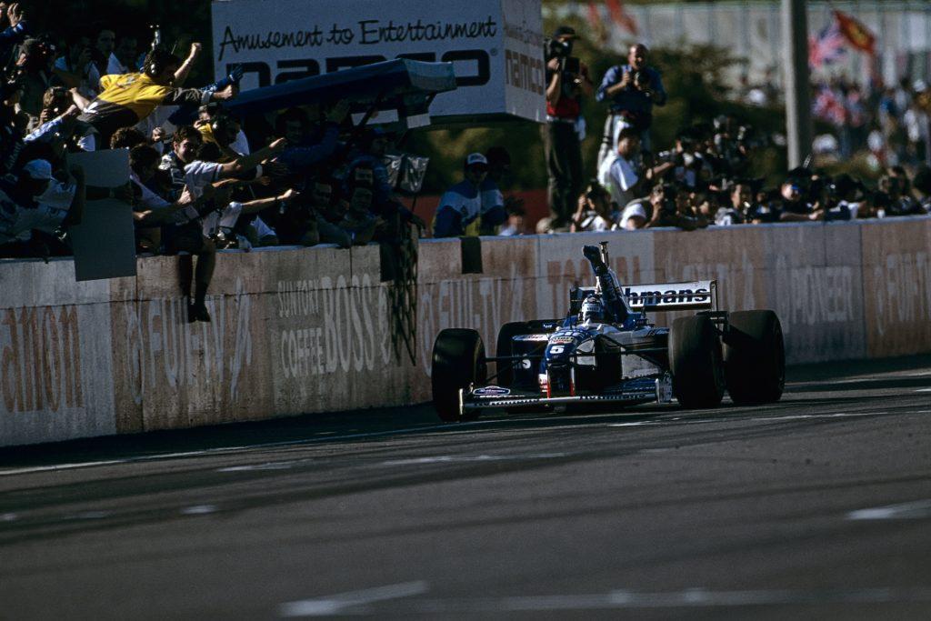 Damon Hill Williams Suzuka 1996