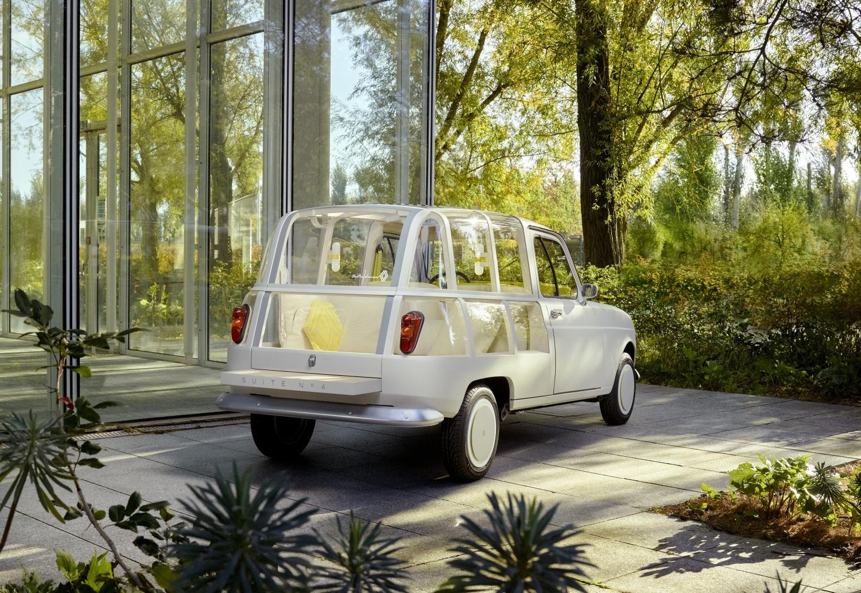 Interior designer's Renault 4 is a mobile lounge