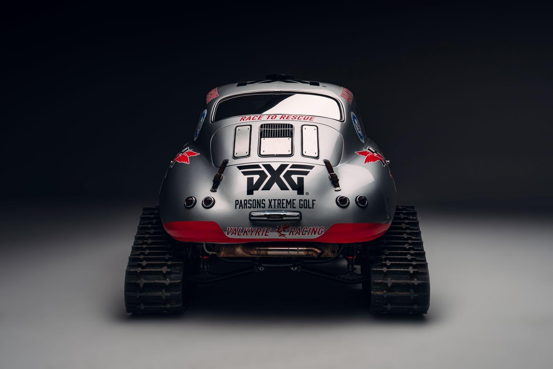Renee Brinkerhoff just turned her Porsche into a skidoo to cross Antarctica