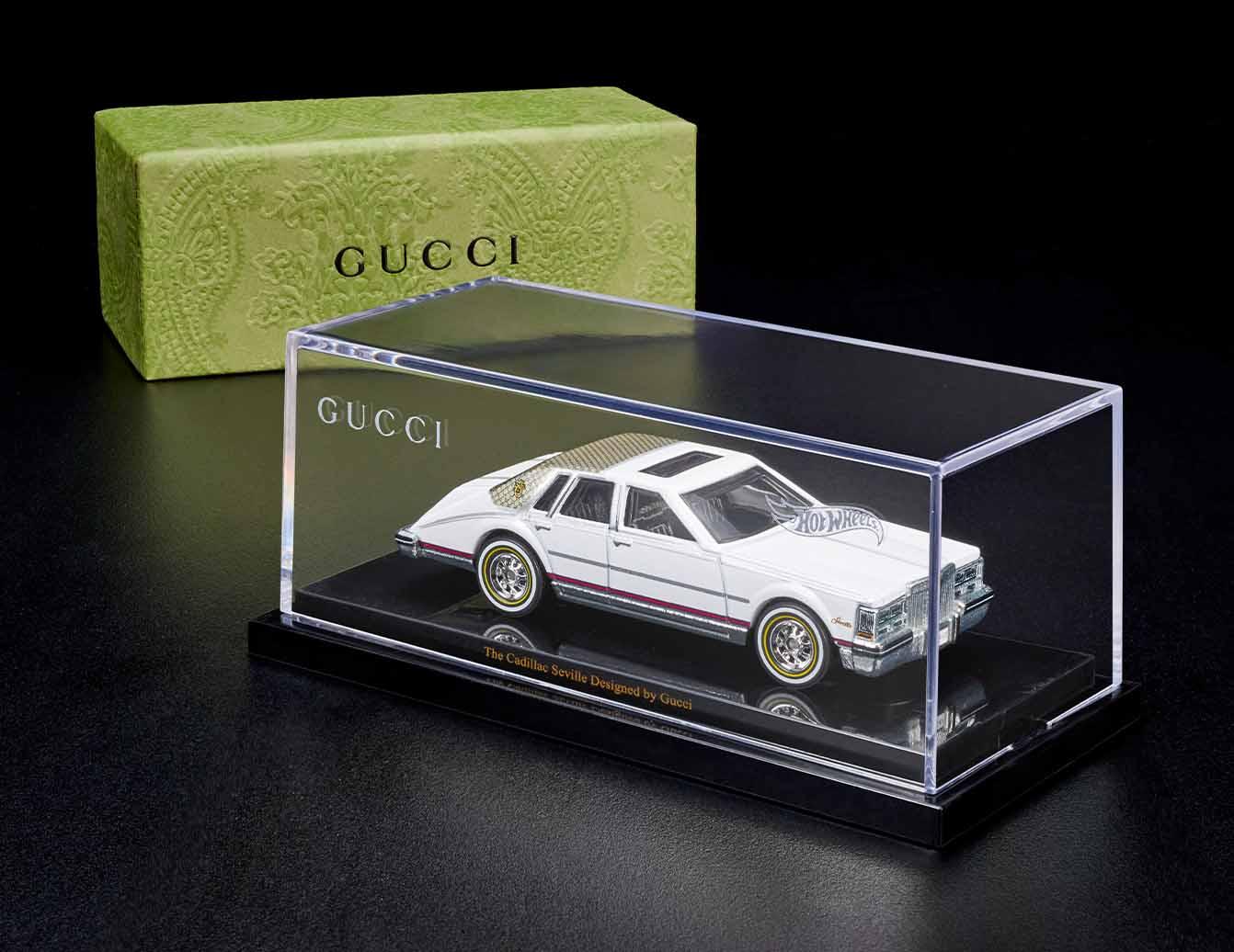 Hot Wheels meets high fashion: Diecast Gucci Cadillac