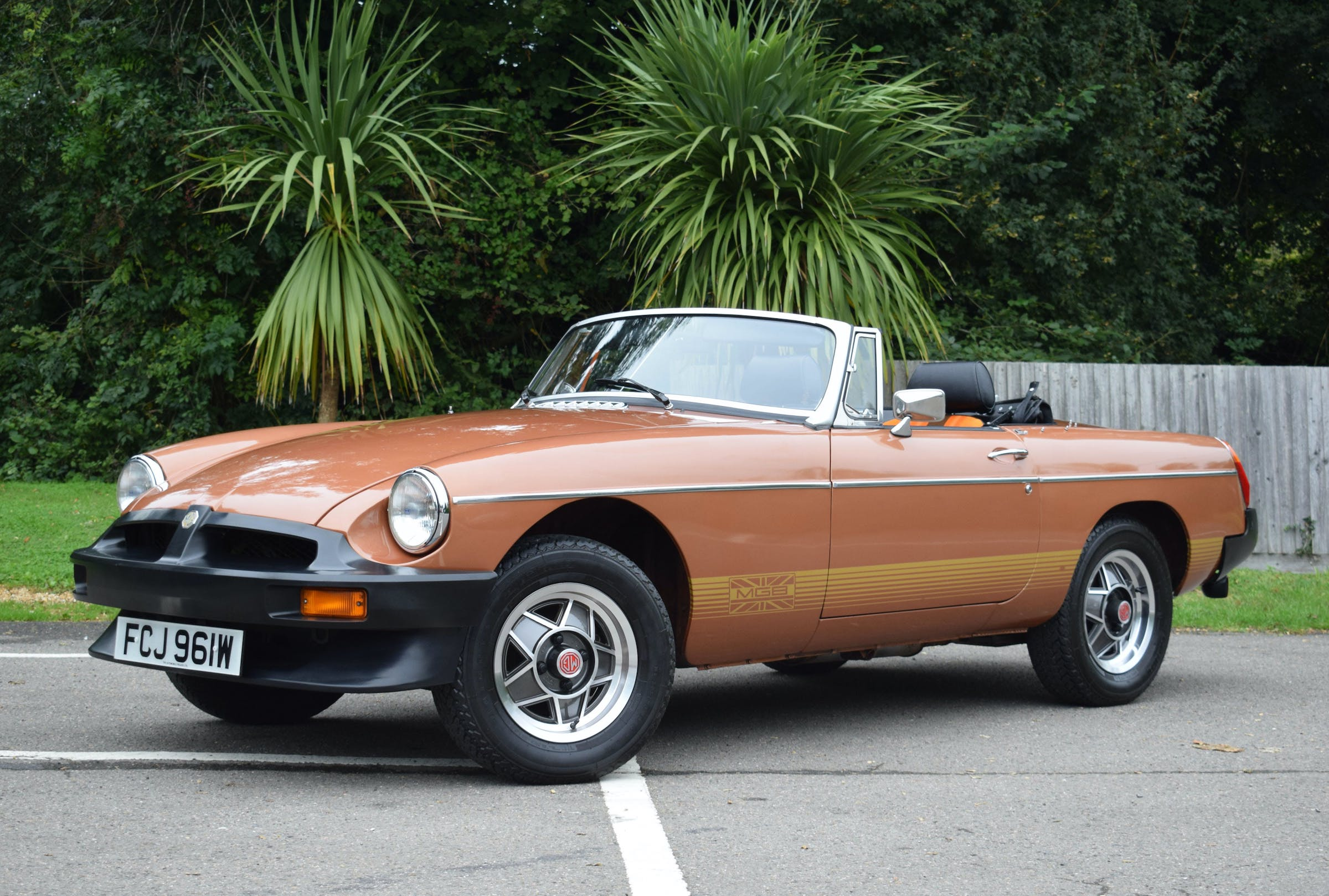 Limited Edition, limited miles: 77-mile MGB LE goes to auction