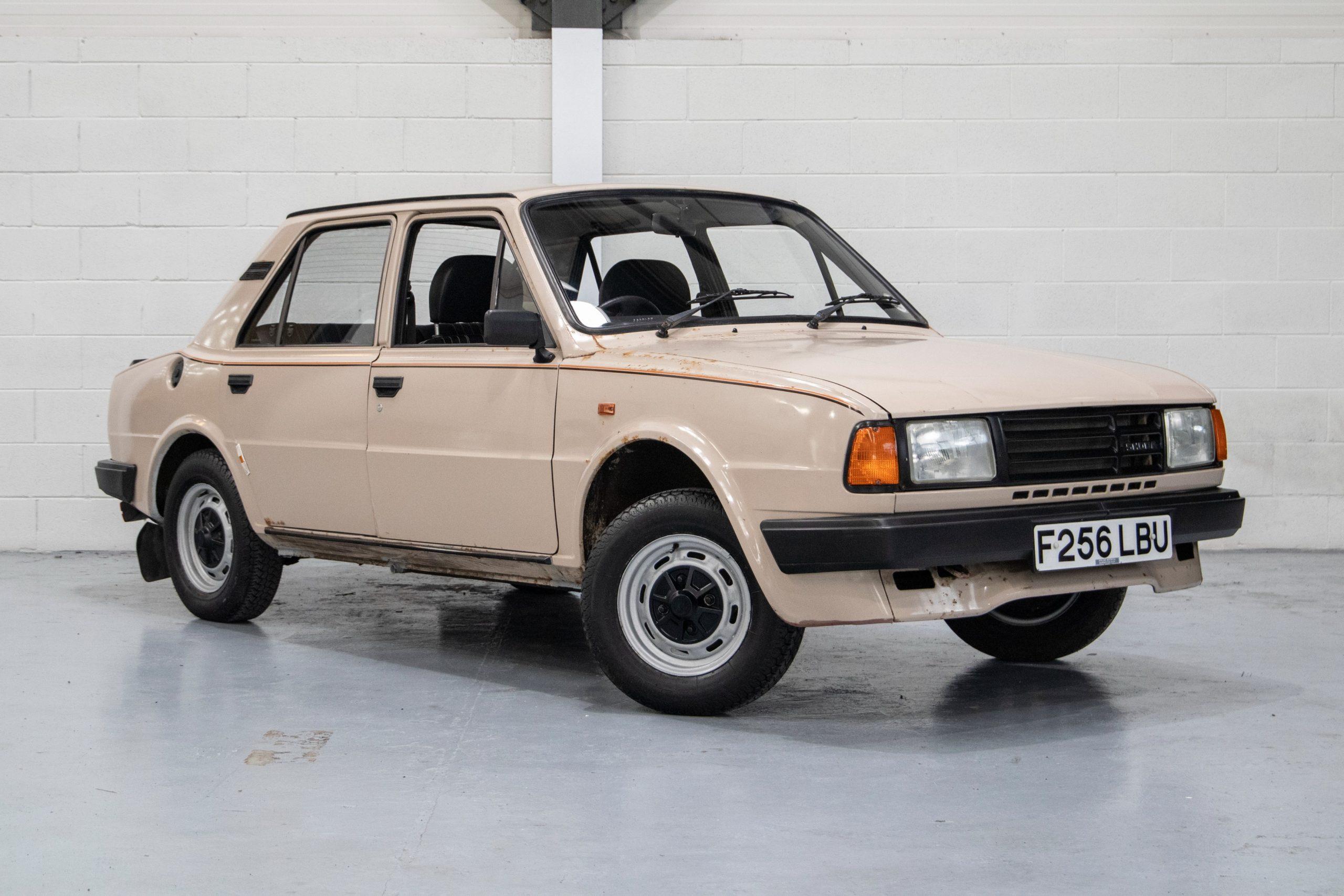 Unexceptional Classifieds: Škoda 120L Estelle