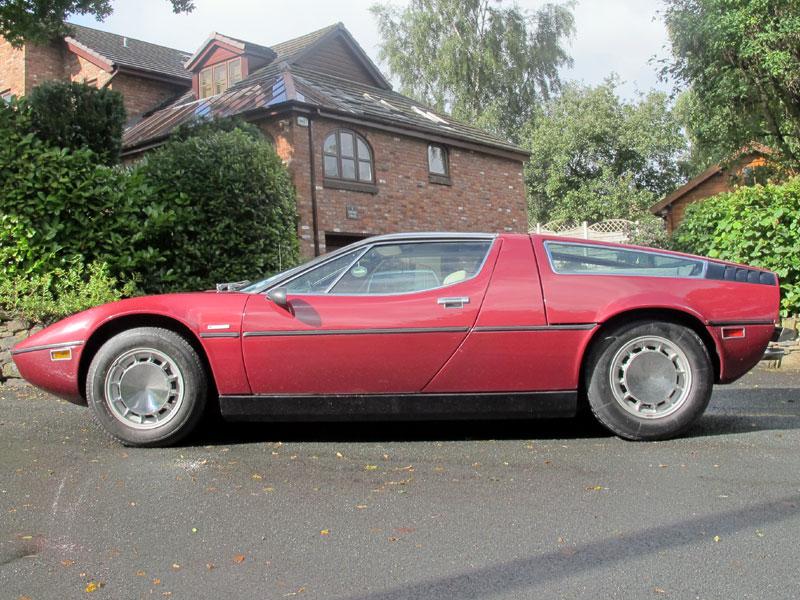 1971 - 1976 Maserati Bora