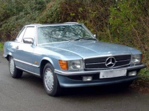 1986 - 1989 Mercedes-Benz 420SL
